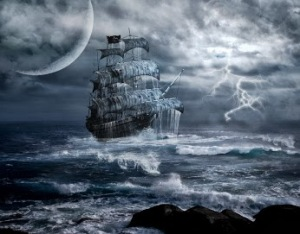 The Deja vu Chronicles by Marti Melville is a paranormal historical fiction based on a real pirate